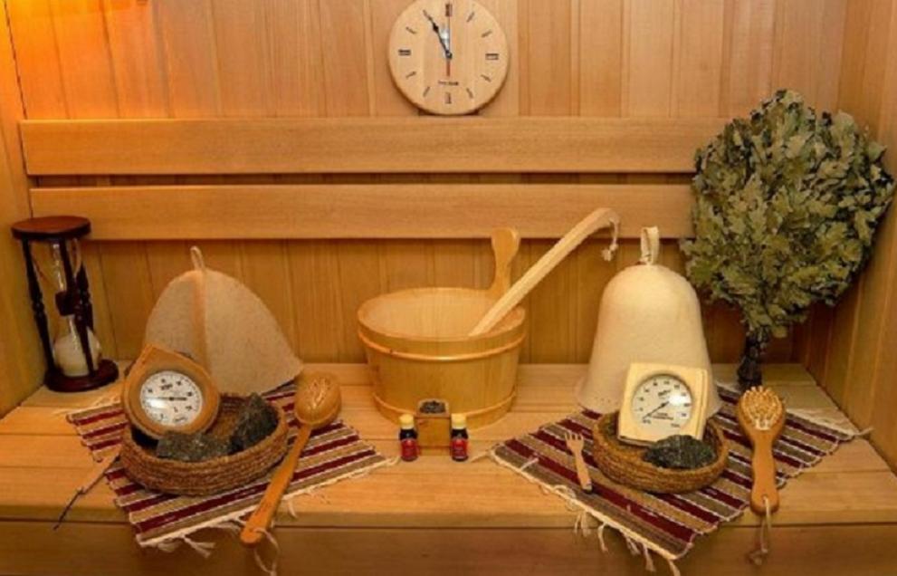 Использование аксессуаров при обустройстве бани