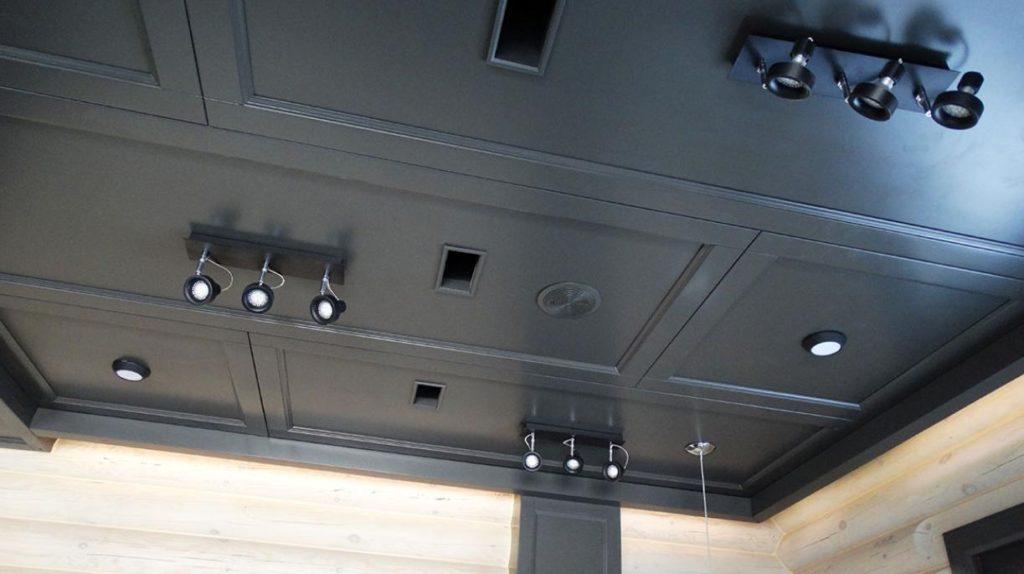 Декоративные деревянные панели для потолка
