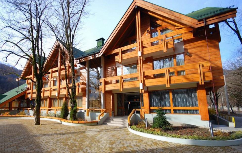 Фото гостиницы Шале в Красной Поляне