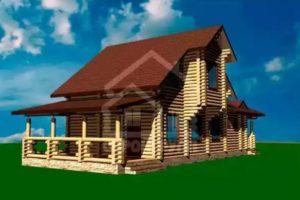Проекты деревянных домов из сруба площадью 140, 150, 160 метров