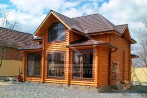 Дачные дома в деревенском стиле