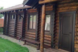 Коммерческие деревянные бани под ключ