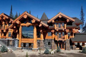 Дома из сруба в канадском стиле, канадская рубка