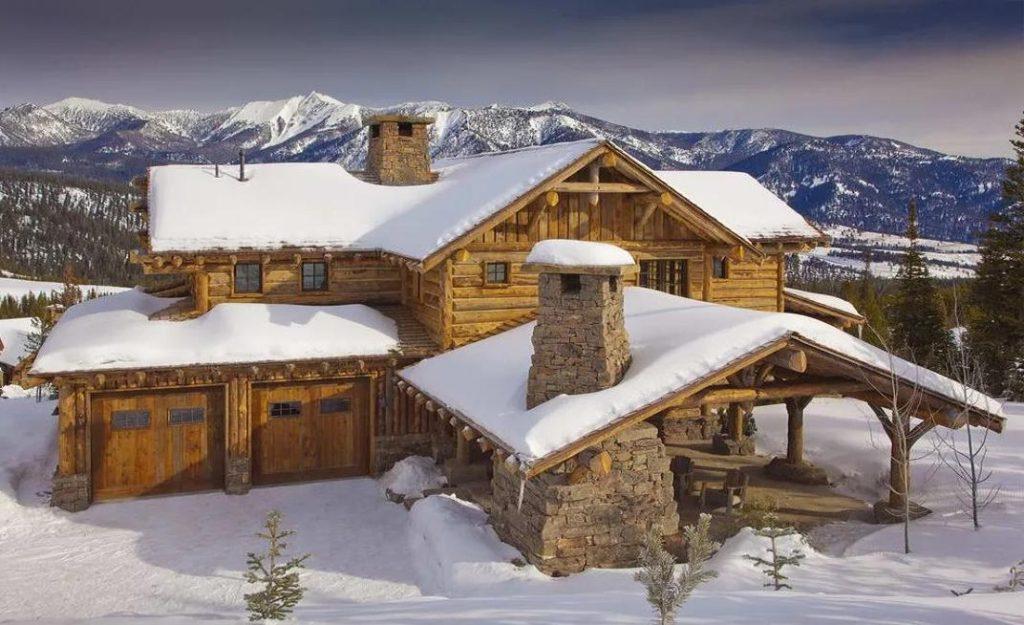 История строительства домов из бревен в Канаде и Америке