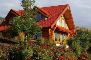 Садовые деревянные домики