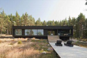 Деревянные дома в стиле модернизм