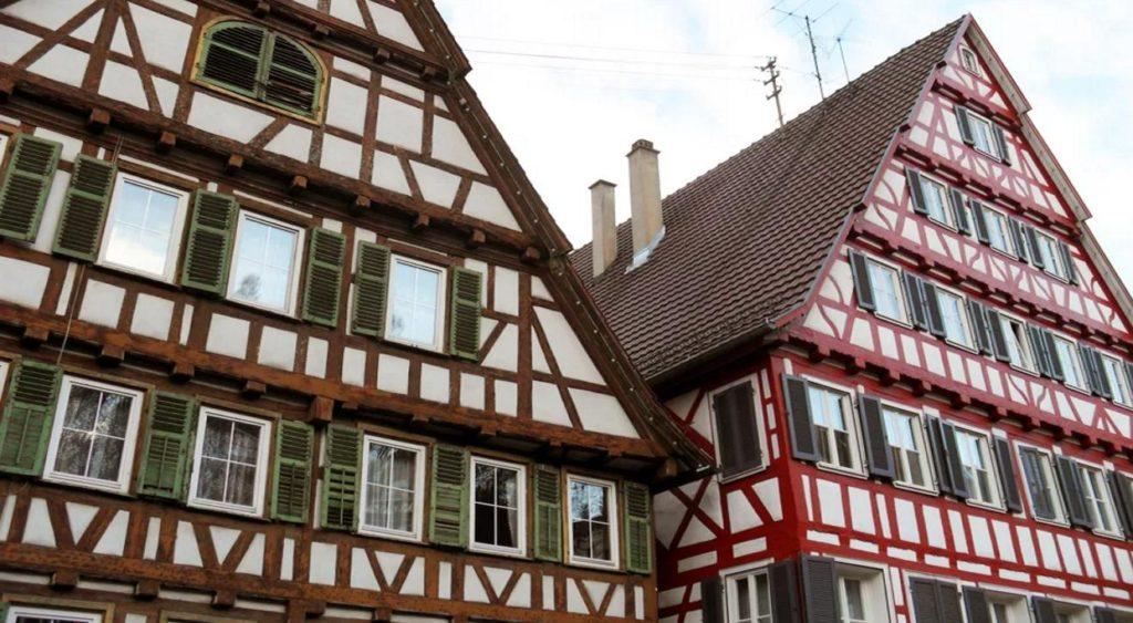 Фахверк — это каркас, возведенный из деревянных балок