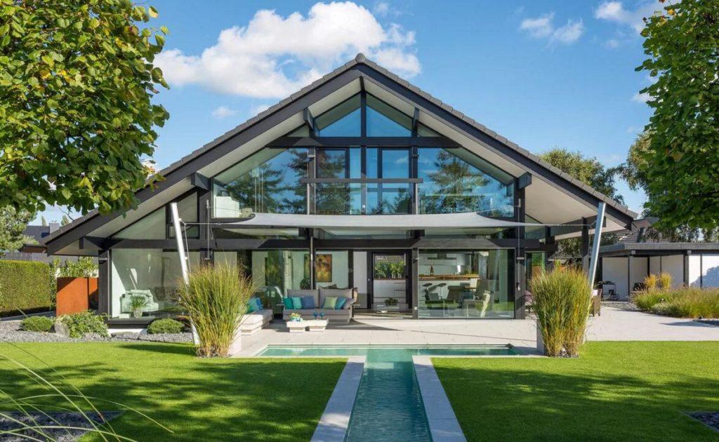Современные дома по технологии фахверк