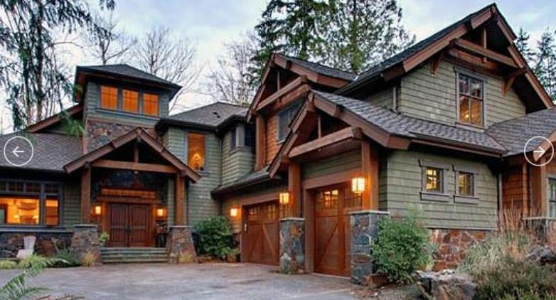 Американские проекты деревянных домов из бруса