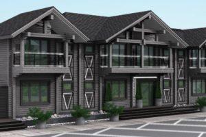 Проекты двухэтажных деревянных гостиниц