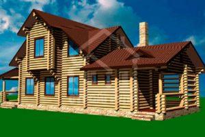Проекты деревянных банных комплексов