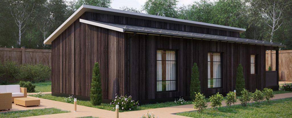 Каркасные деревянные гостиницы