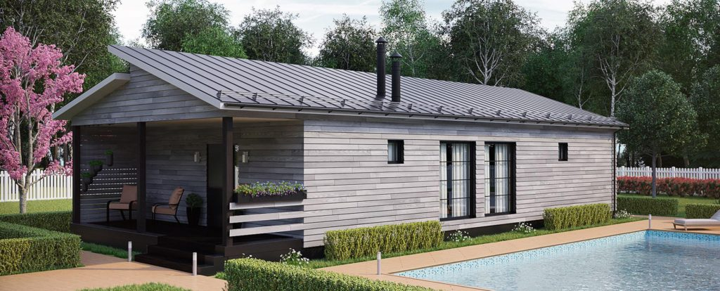 Экологичные гостиницы по технологии каркасного строительства