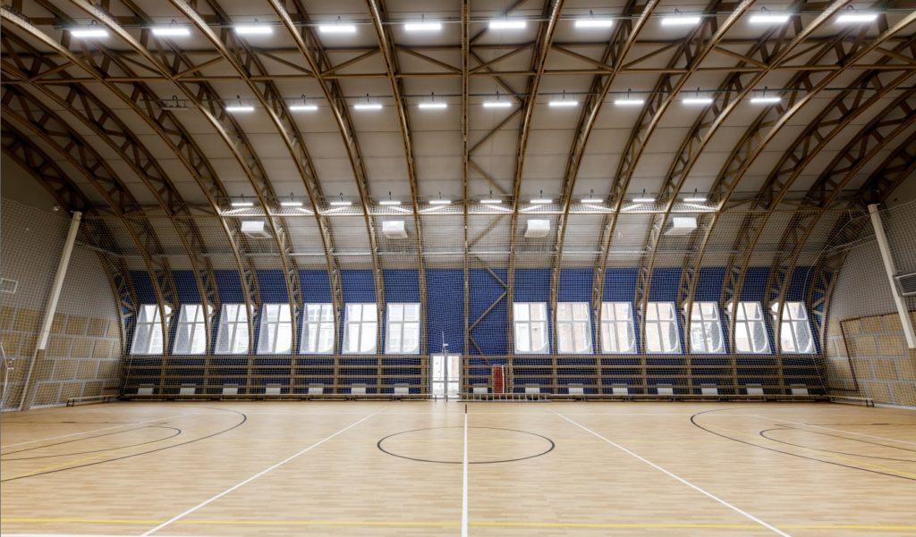 Большепролетные деревянные конструкции для строительства спортивного зала