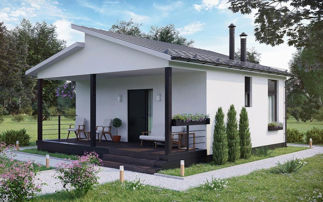 Каркасный дом Изба — 50