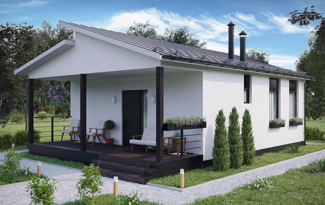 Каркасный дом Изба — 64
