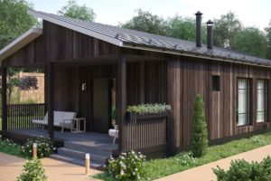 Сборные деревянные дома для постоянного проживания