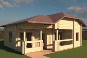 Проекты маленьких деревянных домов под ключ