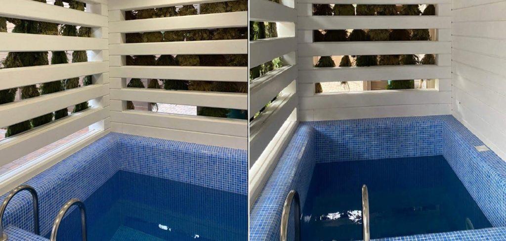Красивый маленький бассейн