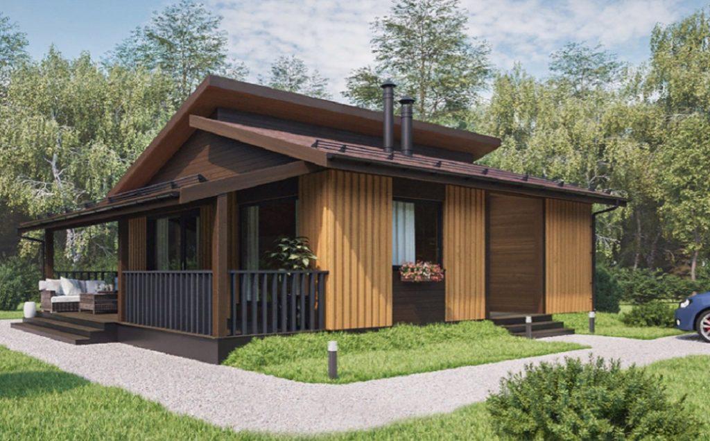Дачные деревянные дома для летнего проживания