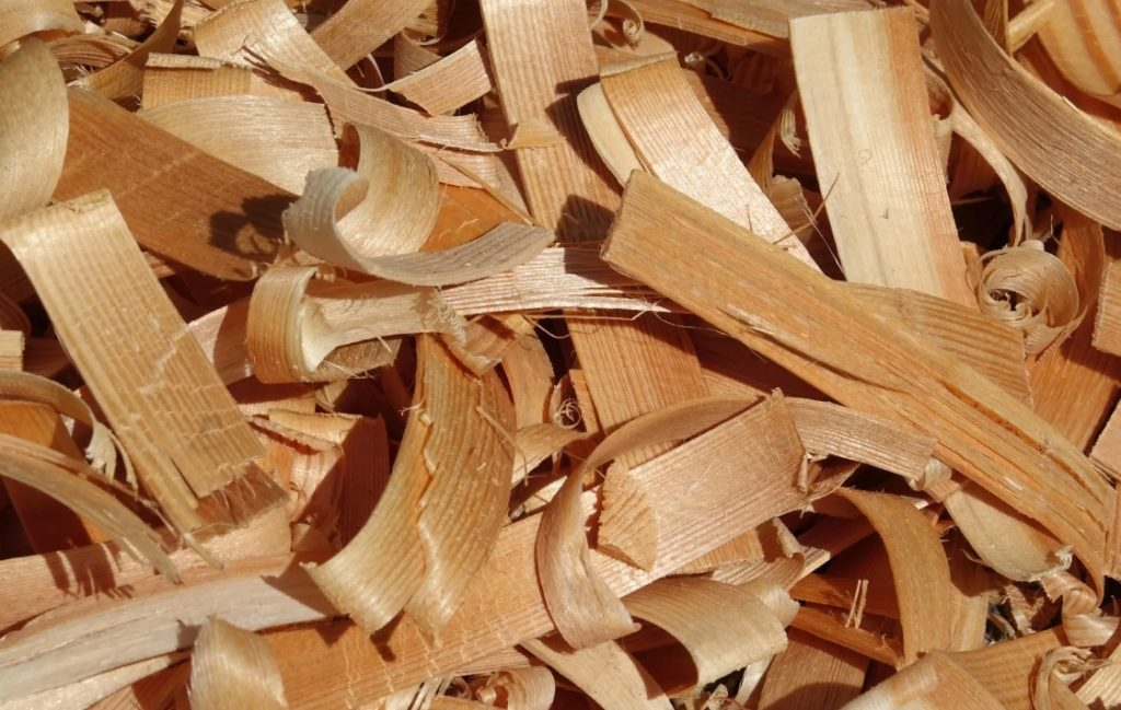 Переработка древесных опилов и стружки